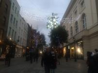 Outside Covent Garden